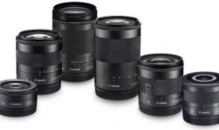 LENSA: Inilah tiga lensa kamera digital terbaru yang dikeluarkan oleh Canon melalui PT. Datascrip sebagai distributor tunggal di Indonesia.